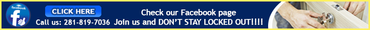 Join us on Facebook - Locksmith Baytown